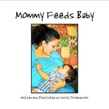 Mommy Feeds Baby by Christy Jo Hendricks