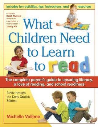 What Children Need to Learn to Read
