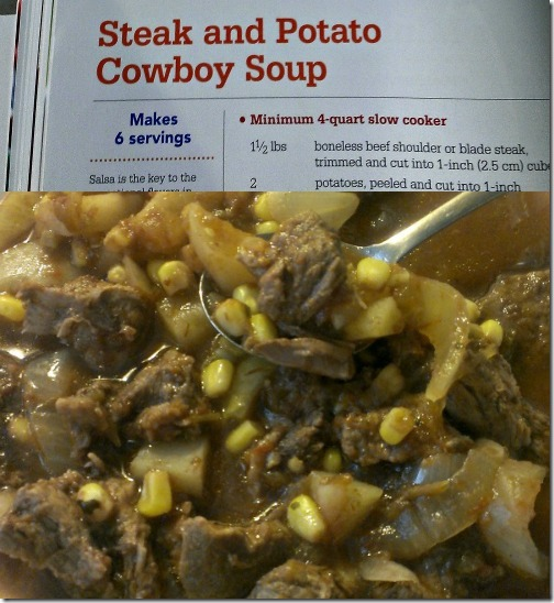 Steak and Potato Cowboy Soup