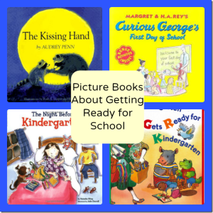 Picture Books to Get Ready for School #EntertainmentHOP