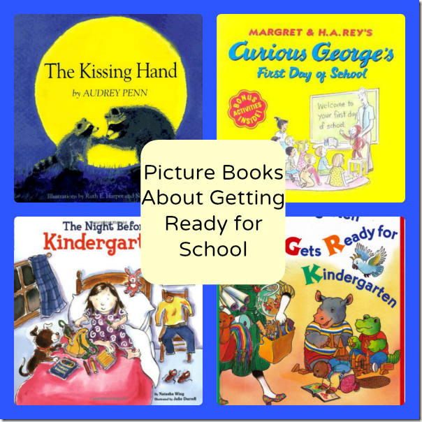Picture Books About Getting Ready for School #EntertainmentHOP