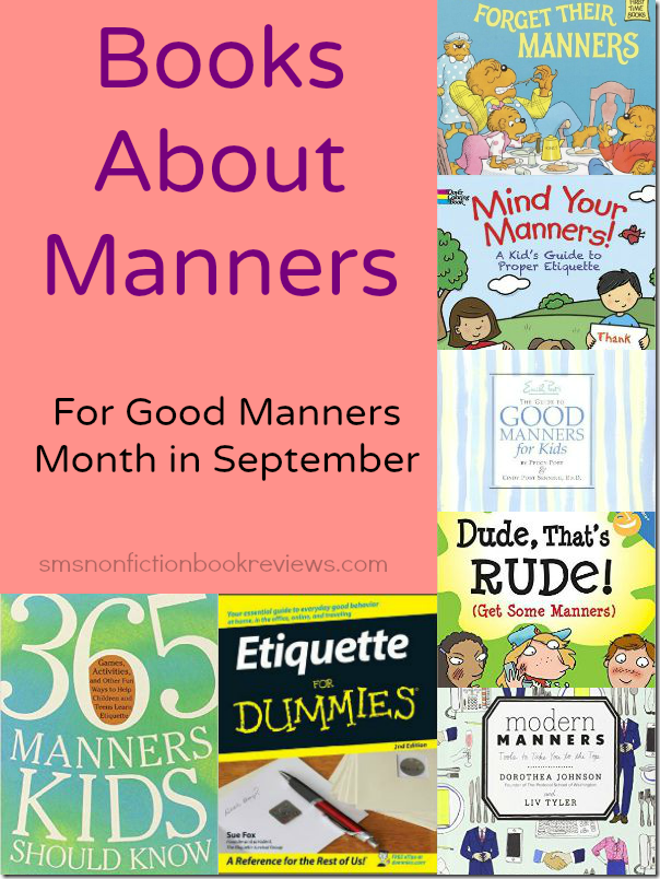 Books About Manners for Kids and Adults
