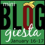 Joining the Mini Bloggiesta