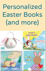 Personalized Easter Books (and more)