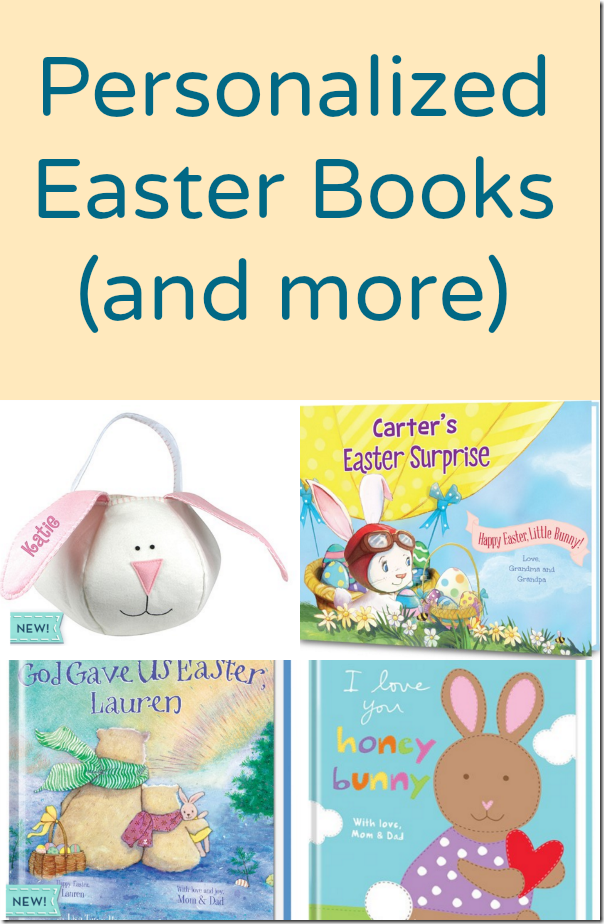 Personalized Easter Books