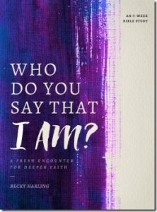 Who Do You Say That I Am – Bible Study by Becky Harling