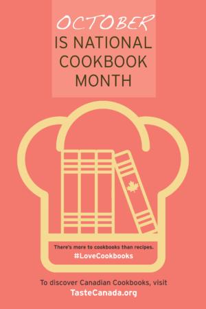 Taste Canada National Cookbook Month