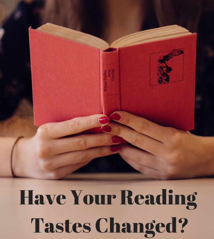 Have Your Reading Tastes Changed Over Time?
