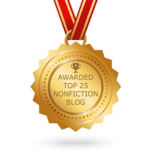 I'm #5 of the Top 25 Nonfiction Blogs