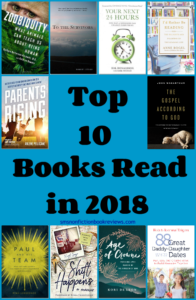 Top 10 Books Read in 2018 #Top10of2018