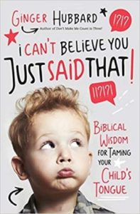 A book review of I Can't Believe You Just Said That by Ginger Hubbard