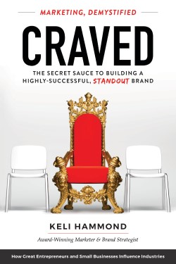 A book review of Craved: Marketing, Demystified by Keli Hammond